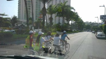 Acapulco City Tandem Bike 3-Hour History-Culinary Tour $49-$59USD